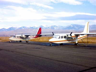 Islanders for Idaho Backcountry Flights