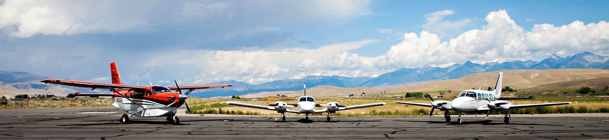 Schedule for Flights between Boise, Salmon, and Idaho Falls