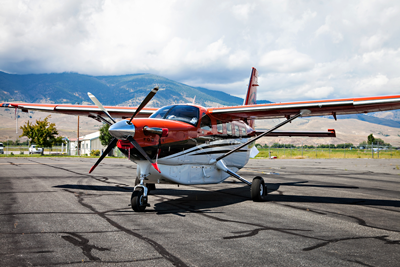 Kodiak ready for flights from Salmon to Boise