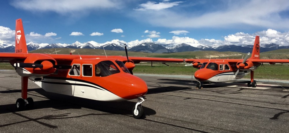 Middle Fork Flights in Islanders