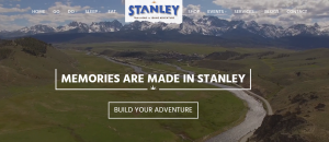 Middle Fork start in Stanley